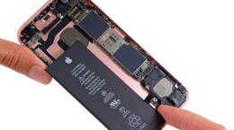 Как заменить батарею на iPhone 6s Plus
